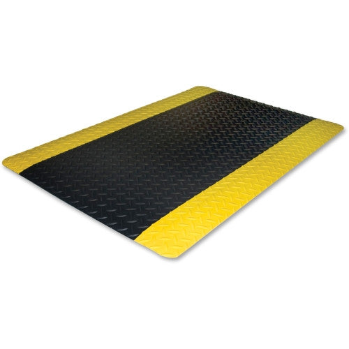 Genuine Joe Safe Step Anti-Fatigue Mat GJO70363, Black (UPC:035255703635)