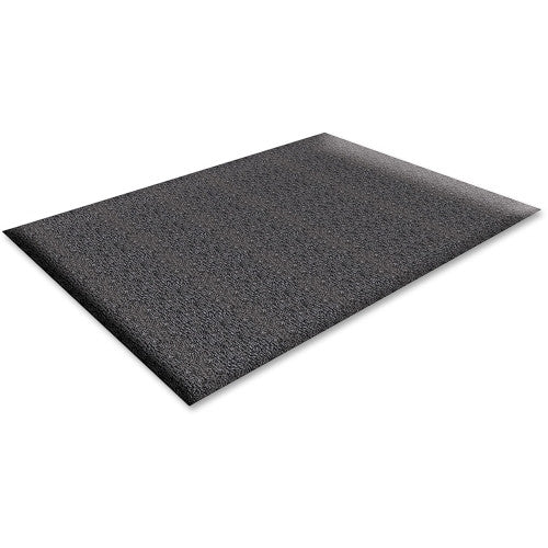 Genuine Joe Soft Step Anti-Fatigue Mat GJO70372, Black (UPC:035255703727)