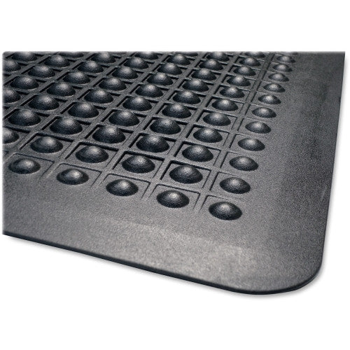 Genuine Joe Flex Step Anti-Fatigue Mat GJO70373, Black (UPC:035255703734)