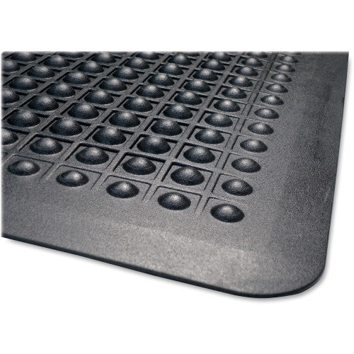 Genuine Joe Flex Step Anti-Fatigue Mat GJO02146, Black (UPC:035255021463)