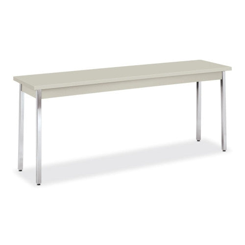 HON High-pressure Laminate Utility Table HONUTM1872QQCHR, Gray (UPC:020459213523)