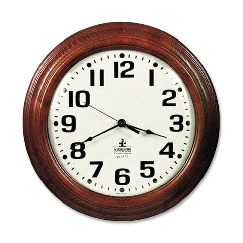 SKILCRAFT Hardwood Wall Clock ; (830951000251)