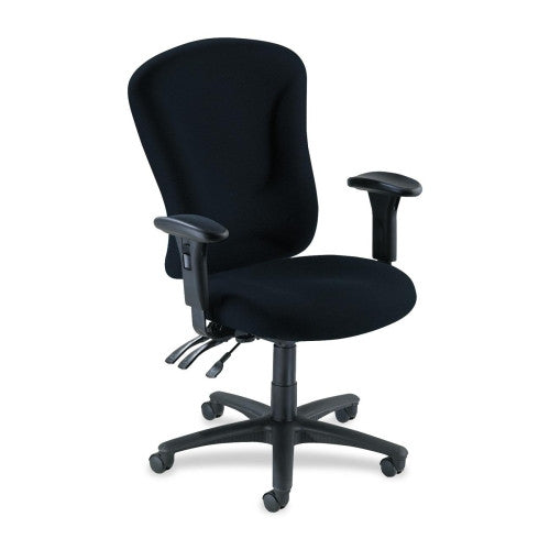 Lorell Accord Fabric Swivel Task Chair ; UPC: 035255661539