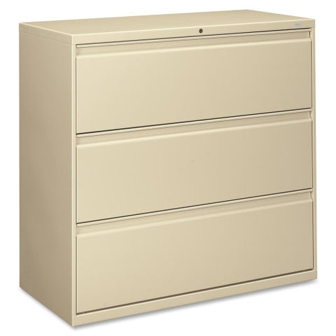 HON 800 Series Wide Lateral File HON893LL, Putty (UPC:089192142699)