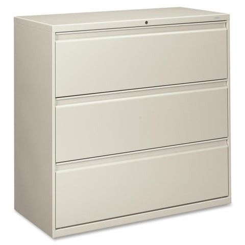 HON 800 Series Wide Lateral File HON893LQ, Gray (UPC:089192162598)