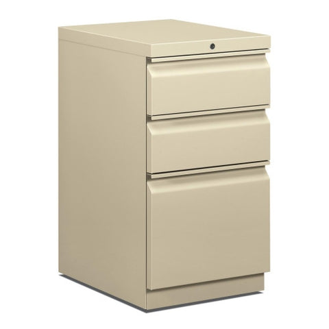 HON Brigade Series Mobile Pedestal HON33720RL, Putty (UPC:631530590916)