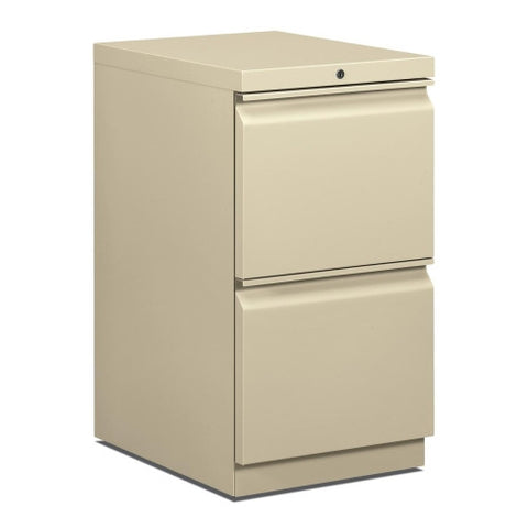HON Brigade Standard Height Pedestal HON33820RL, Putty (UPC:631530592217)