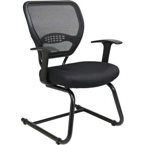 Office Star Star Matrex Mesh Back Guest Chair OSP5505, Black (UPC:090234059837)