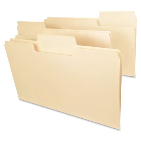 Smead 15301 Manila SuperTab File Folders with Oversized Tab ; UPC: 086486153010