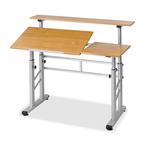 Safco Height-Adjustable Split Level Drafting Table SAF3965MO,  (UPC:073555396508)