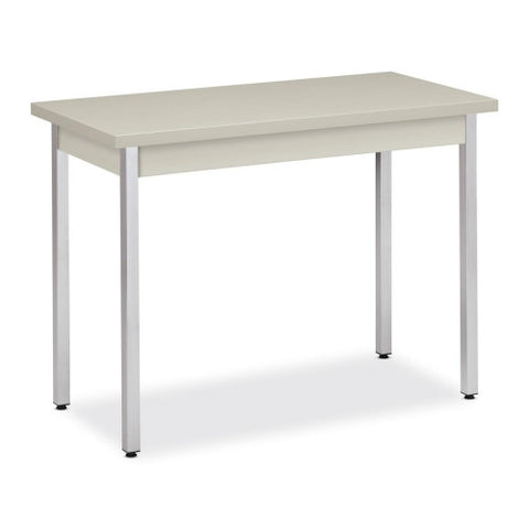HON High-pressure Laminate Utility Table HONUTM2040QQCHR, Gray (UPC:020459479721)