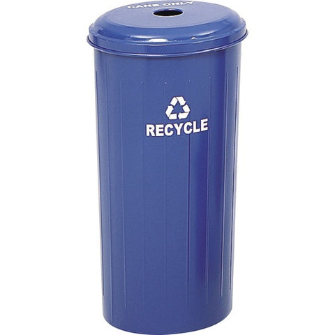 Safco Products Tall Round Recycling Receptacle 9632BU(Image 2)