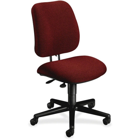 HON Pneumatic Adjustable Height Task Chair HON7703AB62T, Burgundy (UPC:745123362900)