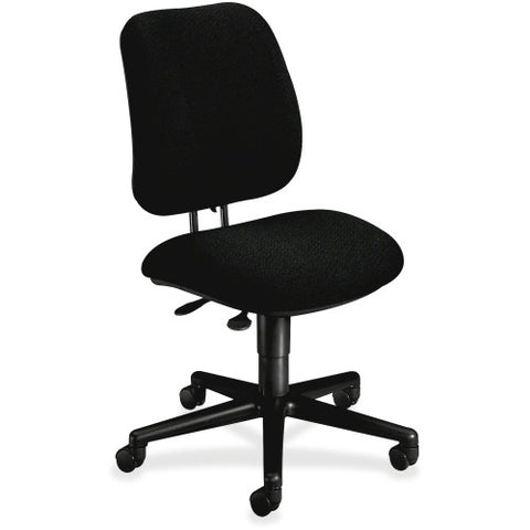HON Pneumatic Adjustable Height Task Chair HON7703AB10T, Black (UPC:745123339117)