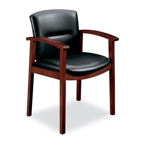 HON Park Avenue Collection 5000 Series Guest Chair HON5003NEE11, Black (UPC:020459565479)