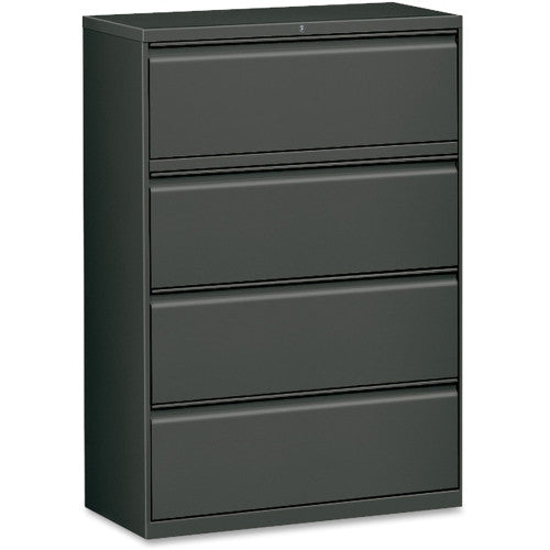 Lorell Lateral File LLR60437, Black (UPC:035255604376)