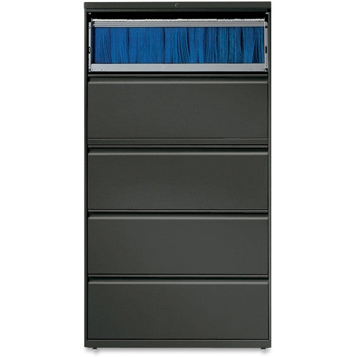 Lorell Lateral File LLR60443, Black (UPC:035255604437)