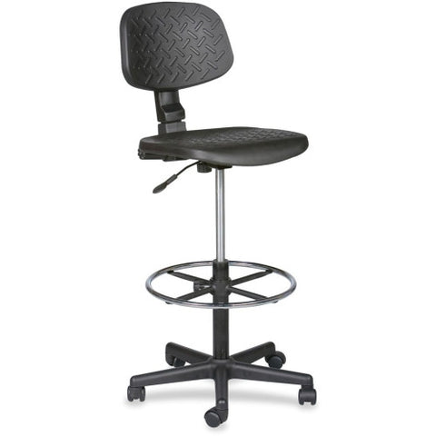 MooreCo Trax Drafting Chair BLT34430, Black (UPC:717641344300)