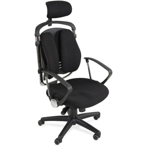 MooreCo Spine Align Executive Chair BLT34556, Black (UPC:717641345567)