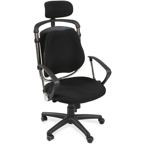 MooreCo Posture Perfect Executive Chair BLT34571, Black (UPC:717641345710)