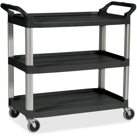 Rubbermaid Economy Cart RCP342488BK, Black (UPC:086876159509)