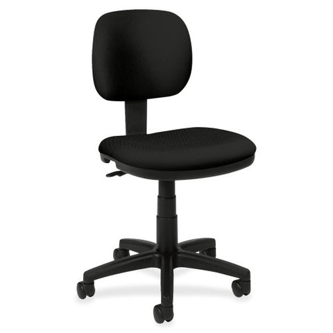 basyx by HON HVL610 Light Duty Low-Back Task Chair ; Color: Black; UPC: 782986172833