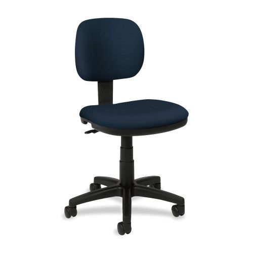 basyx by HON HVL610 Light Duty Low-Back Task Chair ; Color: Navy; UPC: 782986172864