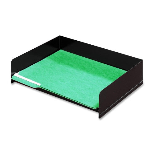 Buddy Classic No Post Stacking Desk Tray BDY04084, Black (UPC:025719040840)