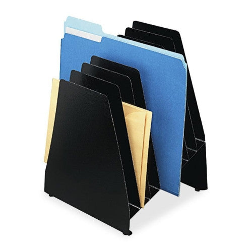 Buddy Slant File Pockets BDY45784, Black (UPC:025719457846)