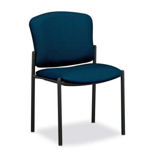 HON Pagoda 4070 Series 4073 Armless Stacking Chair HON4073NT90T, Blue (UPC:791579063397)