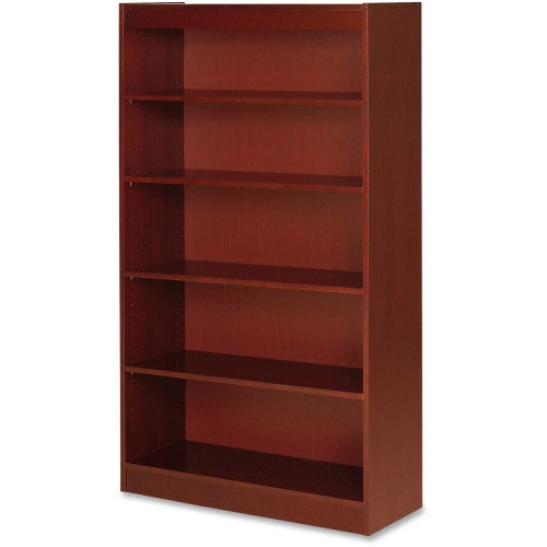 Lorell Five Shelf Panel Bookcase ; UPC: 035255890533
