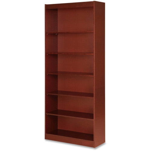 Lorell Six Shelf Panel Bookcase ; UPC: 035255890557