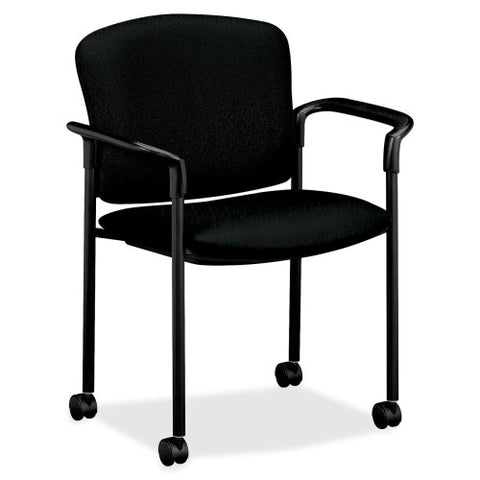HON 4070 Series Mobile Guest Chair HON4075NT10T, Black (UPC:089192855292)
