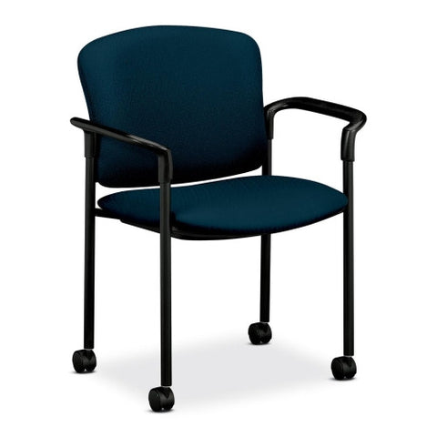 HON 4070 Series Mobile Guest Chair HON4075NT90T, Blue (UPC:089191226024)