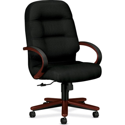 HON Pillow-soft 2090 Series High-back Executive Chair HON2191NNT10, Black (UPC:645162721747)