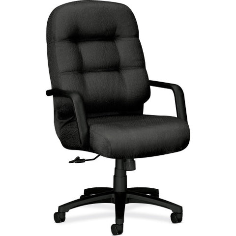 HON Pillow-soft 2090 Series High-back Executive Chair HON2091NT19T, Black (UPC:020459250108)