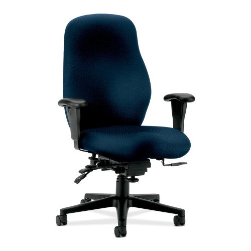 HON 7800 Series High Back Executive Chair HON7808NT90T, Blue (UPC:089192733927)