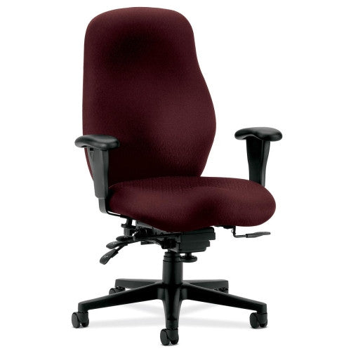 HON 7800 Series High Back Executive Chair HON7808NT69T, Red (UPC:089191123897)