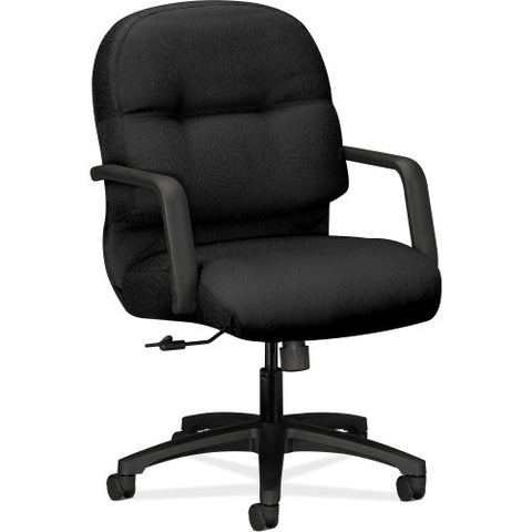 HON Pillow-soft 2090 Series Management Chair HON2092NT10T, Black (UPC:089191978916)