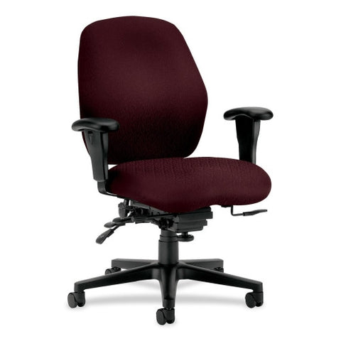 HON 7800 Series Mid Back Managemnt Chair HON7828NT69T, Red (UPC:089191099635)