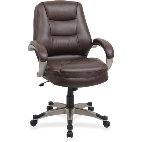 Lorell Westlake Series Mid Back Management Chair ; UPC: 035255632812