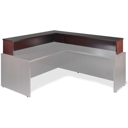 Lorell Reception Counter Add-on ; UPC: 035255878043