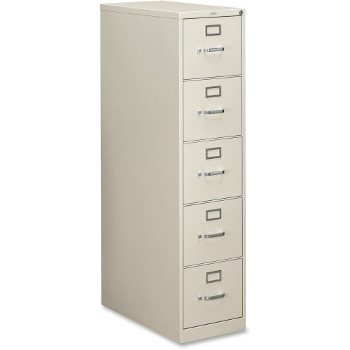 HON 210 Series Light Gray Vertical Filing Cabinet HON215PQ, Gray (UPC:089192134878)