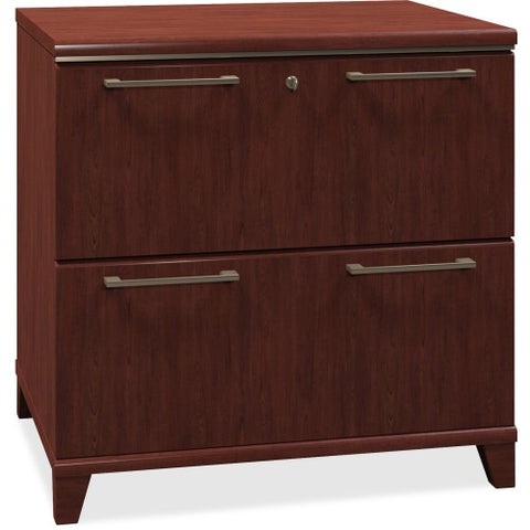 Bush Enterprise 30W 2 Drawer Lateral File BSH2954CS03, Cherry (UPC:042976295417) ; Image 1