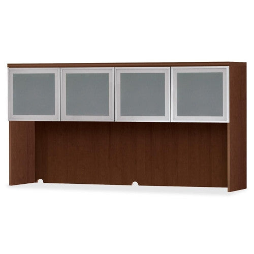 "HON Park Avenue Stack-On Storage with Enclosed Back - 72"" Wide - 4 Frosted Doors - HONPC501GVXFF"