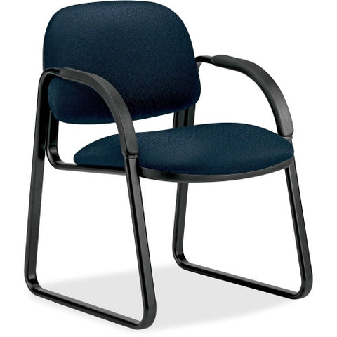 HON Sensible Seating 6008 Sled Base Guest Chair HON6008NT90T, Blue (UPC:089192737604)