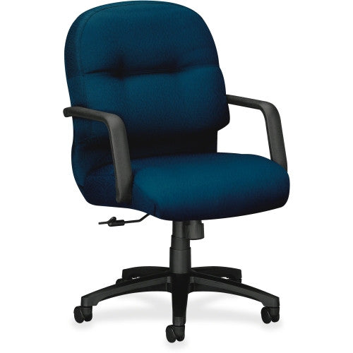 HON 2090 Series Pillow-soft Mid-Back Chair HON2092NT90T, Blue (UPC:745123663151)