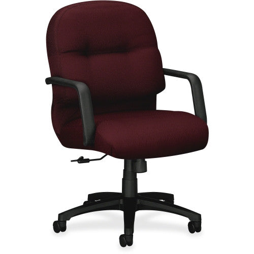 HON 2090 Series Pillow-soft Mid-Back Chair HON2092NT69T, Red (UPC:089191951902)
