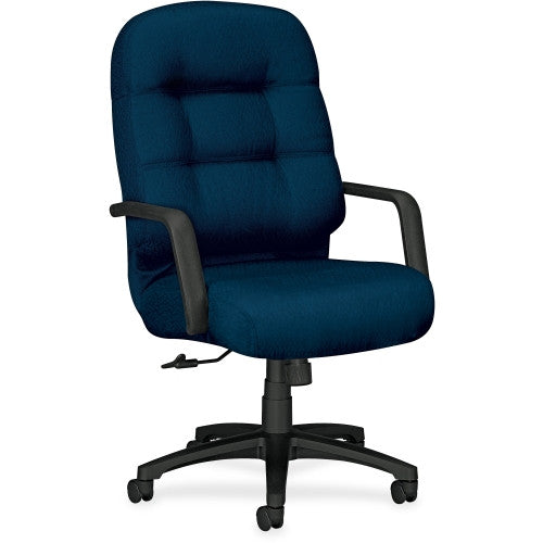 HON 2091 Pillow-soft Exec. High-Back Chair HON2091NT90T, Blue (UPC:631530378415)