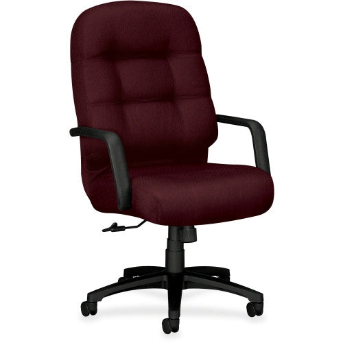HON 2090 Series Pillow-soft Exec. High-Back Chair HON2091NT69T, Red (UPC:020459994583)